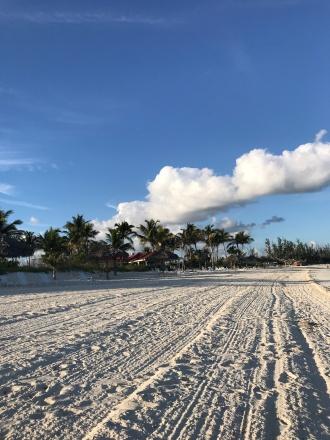 Mornings at Taino Beach Resort
